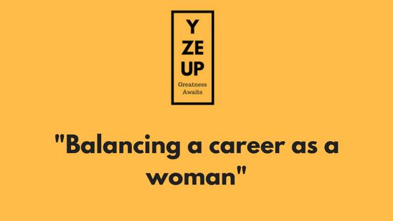 Balancing a career