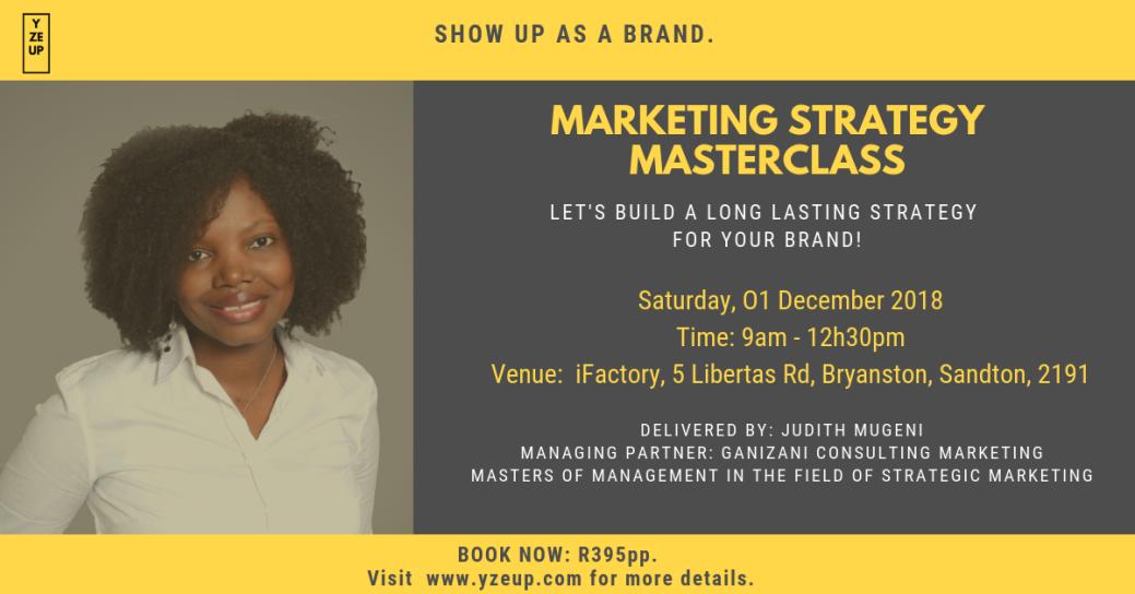 Save The Date Marketing Strategy Masterclass